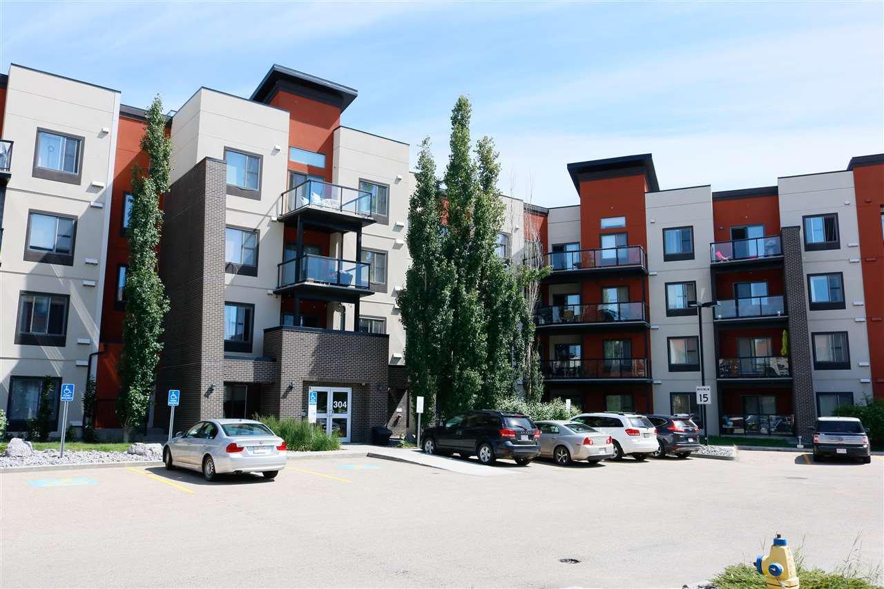 Main Photo: 111 304 AMBLESIDE Link in Edmonton: Zone 56 Condo for sale : MLS®# E4203816