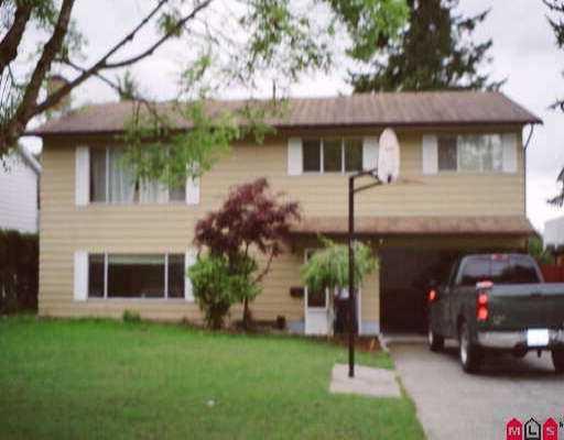 Main Photo: 15536 85A AV in Surrey: Fleetwood Tynehead House for sale : MLS®# F2511520