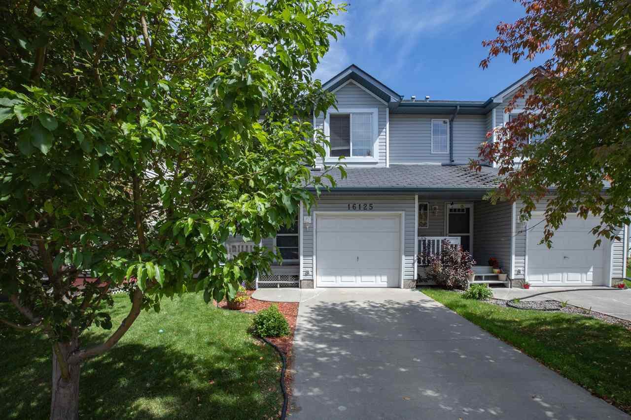 Main Photo: 16125 131A Street in Edmonton: Zone 27 House Half Duplex for sale : MLS®# E4168397