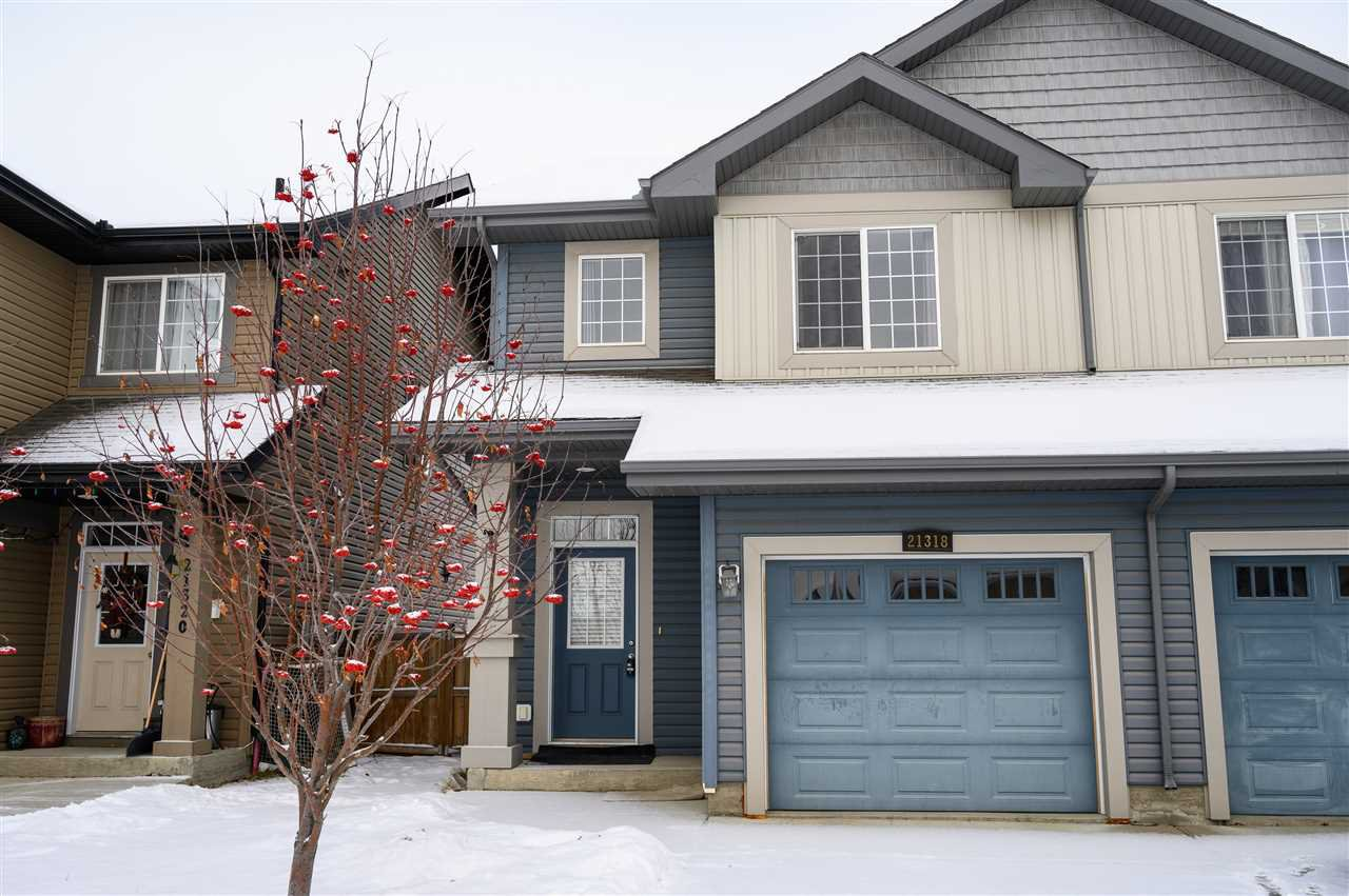 Main Photo: 21318 61 Avenue in Edmonton: Zone 58 House Half Duplex for sale : MLS®# E4182904