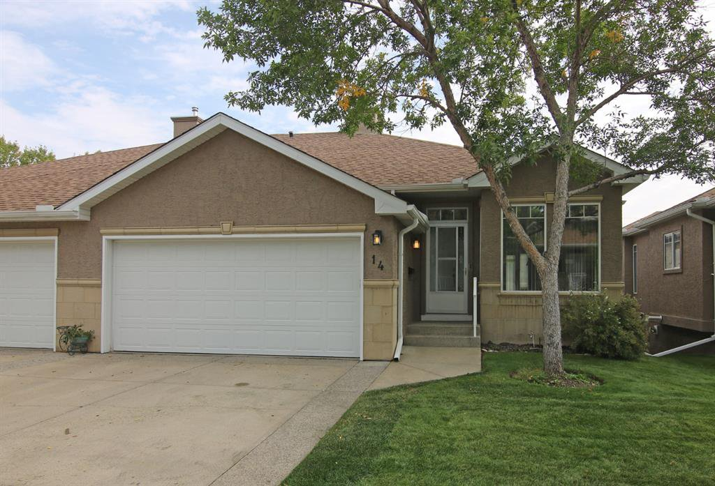 Main Photo: 14 SIGNAL HILL Lane SW in Calgary: Signal Hill Semi Detached for sale : MLS®# A1034510