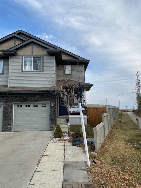 Main Photo: 153 51 Street in Edmonton: Zone 53 House Half Duplex for sale : MLS®# E4219359