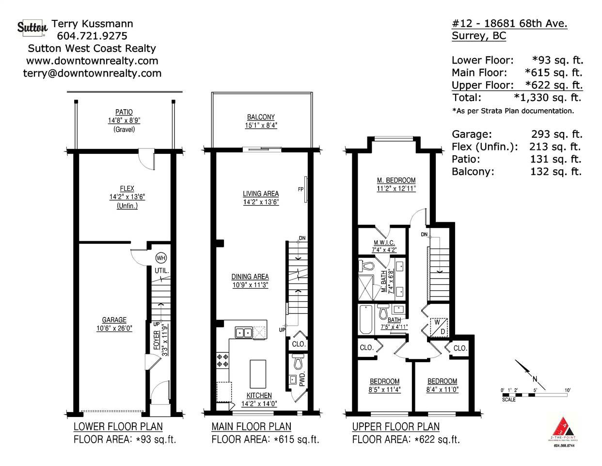 """Photo 20: Photos: 12 18681 68 Avenue in Surrey: Clayton Townhouse for sale in """"Creekside"""" (Cloverdale)  : MLS®# R2391665"""