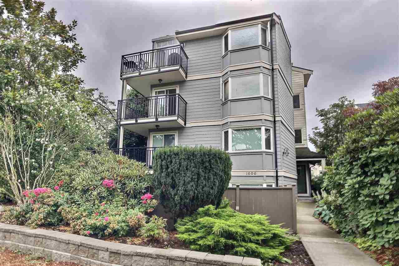 Main Photo: 1 1606 W 10TH Avenue in Vancouver: Fairview VW Condo for sale (Vancouver West)  : MLS®# R2395955