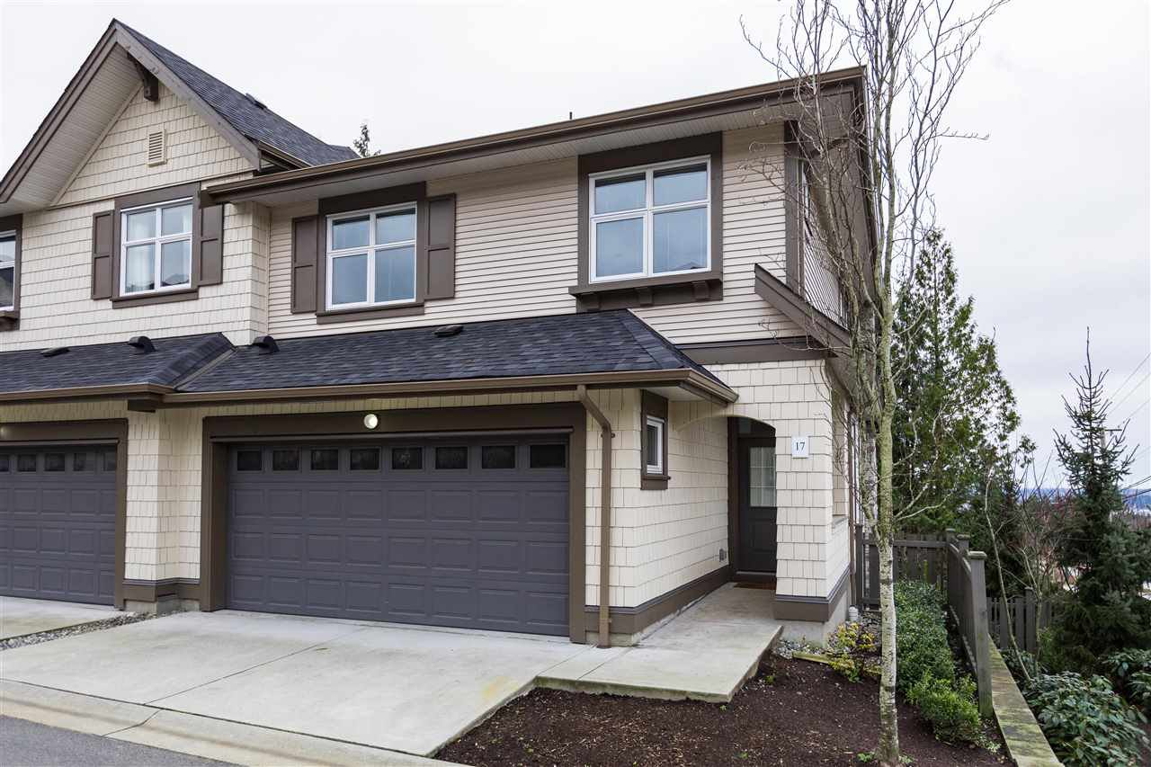 "Main Photo: 17 3400 DEVONSHIRE Avenue in Coquitlam: Burke Mountain Townhouse for sale in ""Colborne Lane"" : MLS®# R2427798"