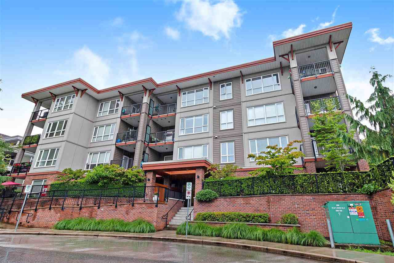 "Main Photo: 203 2473 ATKINS Avenue in Port Coquitlam: Central Pt Coquitlam Condo for sale in ""VALORE ON THE PARK"" : MLS®# R2473966"