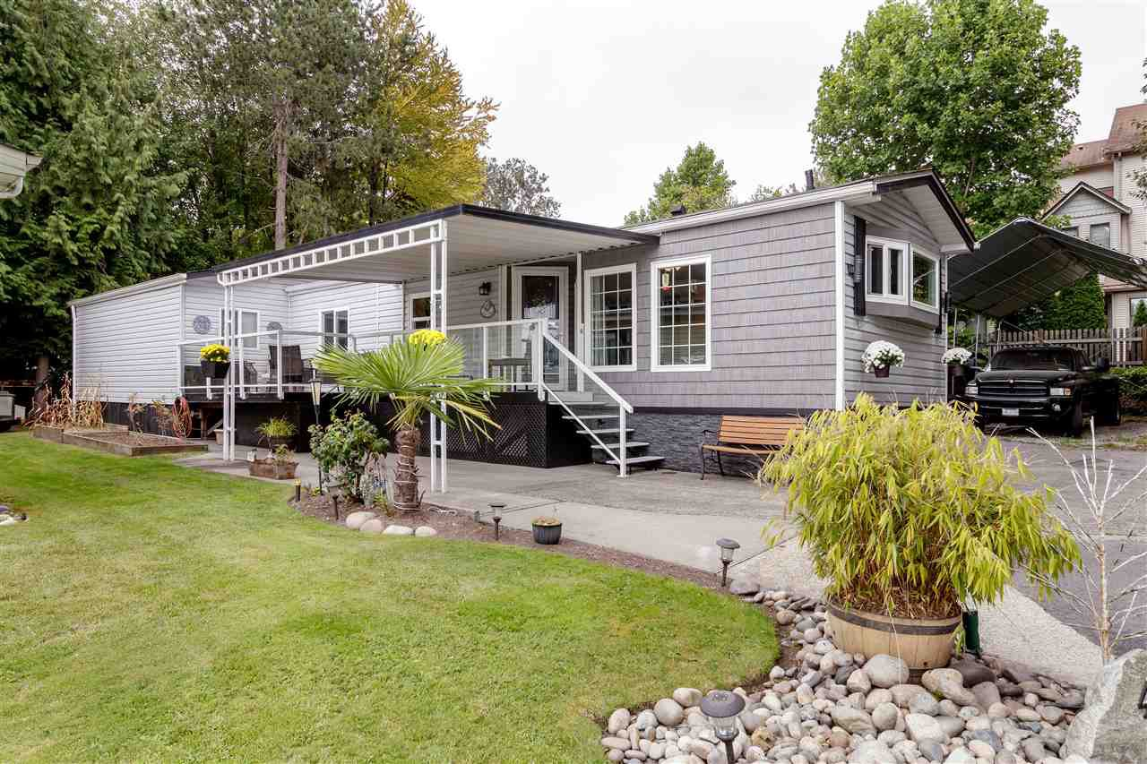 "Main Photo: 42 145 KING EDWARD Street in Coquitlam: Maillardville Manufactured Home for sale in ""MILL CREEK VILLAGE"" : MLS®# R2509397"