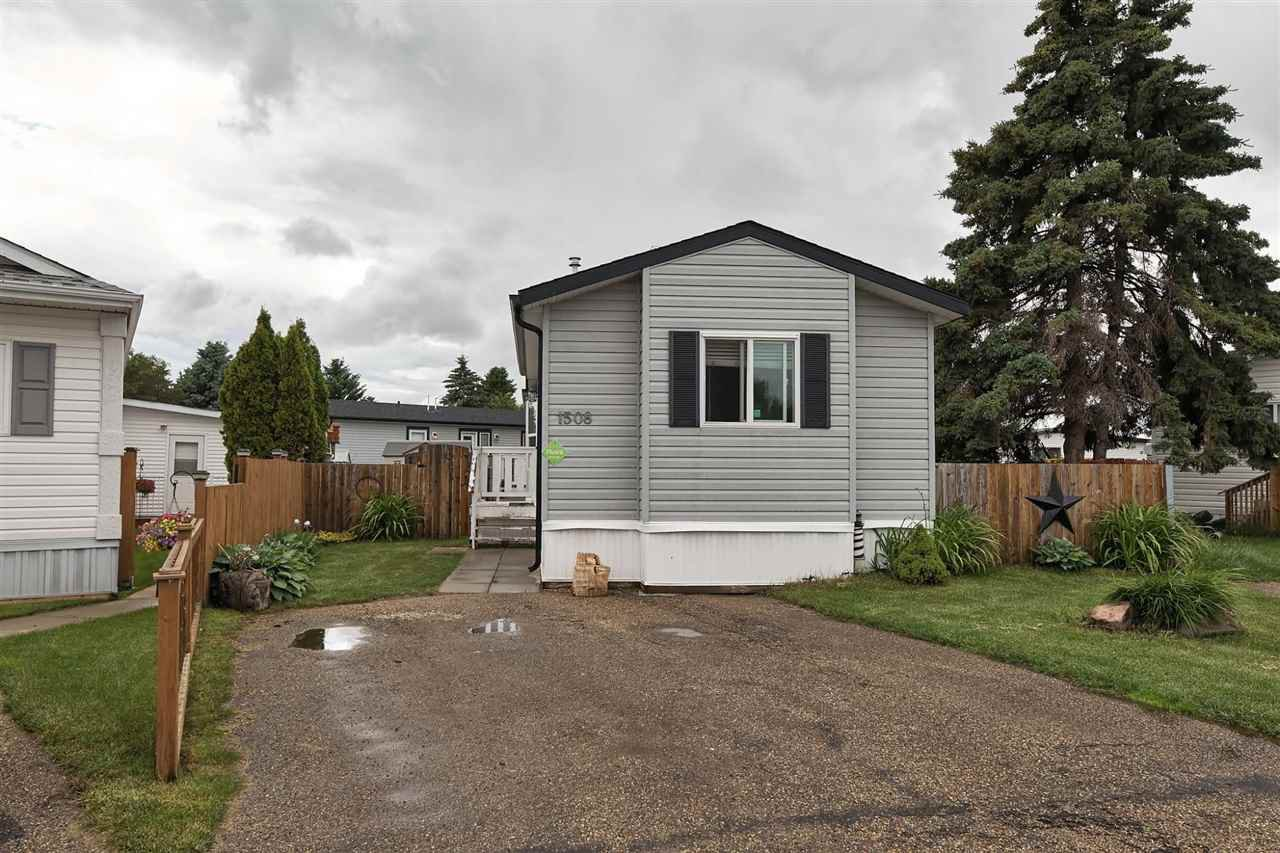 Main Photo: 1508 Westview Bay in Edmonton: Zone 59 Mobile for sale : MLS®# E4205415