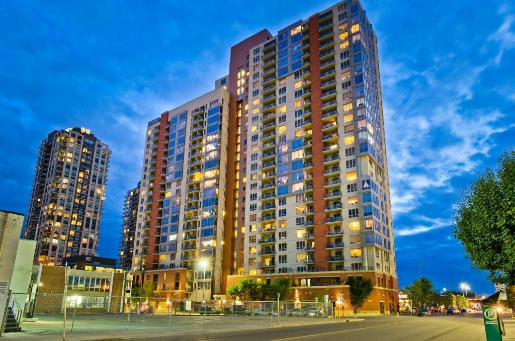 Main Photo: 1615 1053 10 Street SW in Calgary: Beltline Apartment for sale : MLS®# A1016439