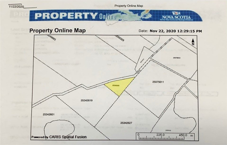 Main Photo: VL Eddy Road in Fort Lawrence: 101-Amherst,Brookdale,Warren Vacant Land for sale (Northern Region)  : MLS®# 202024243