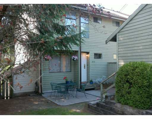 "Main Photo: 452 LEHMAN PL in Port Moody: North Shore Pt Moody Townhouse for sale in ""EAGLE POINT"" : MLS®# V598310"