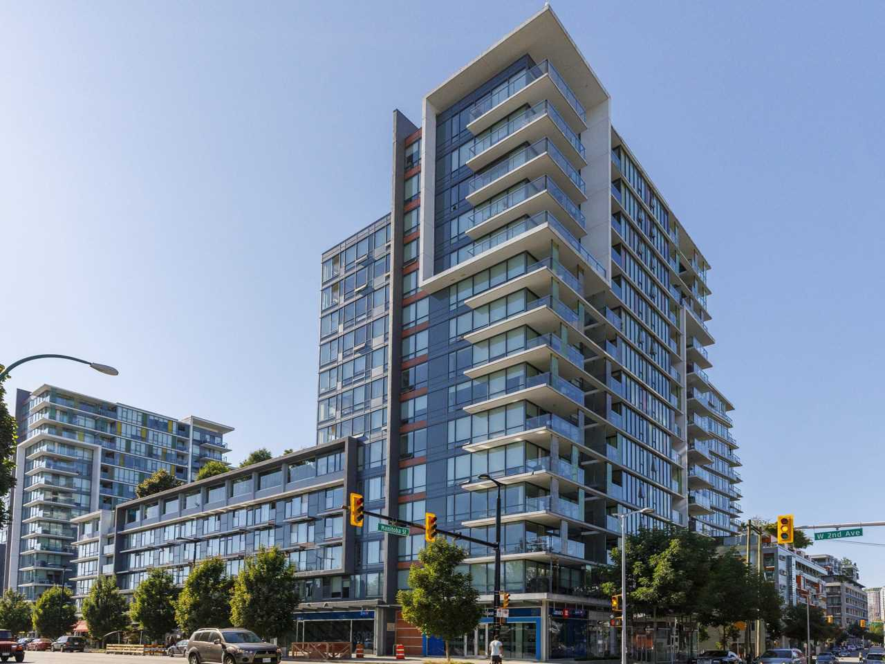 "Main Photo: 631 1783 MANITOBA Street in Vancouver: False Creek Condo for sale in ""Residences at West"" (Vancouver West)  : MLS®# R2478331"