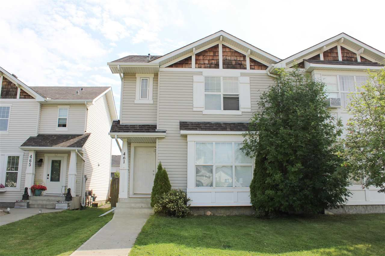 Main Photo: 461 CRANBERRY Way: Sherwood Park House Half Duplex for sale : MLS®# E4168403