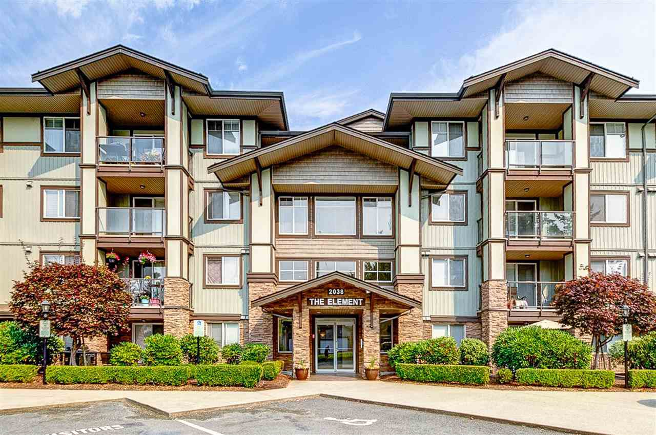 """Main Photo: 412 2038 SANDALWOOD Crescent in Abbotsford: Central Abbotsford Condo for sale in """"The Element"""" : MLS®# R2490142"""