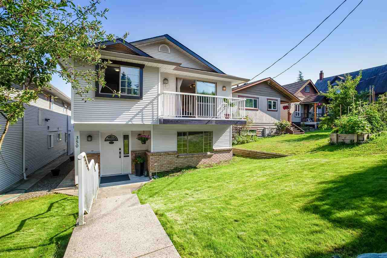"Main Photo: 350 E EIGHTH Avenue in New Westminster: The Heights NW House for sale in ""The Heights"" : MLS®# R2497775"