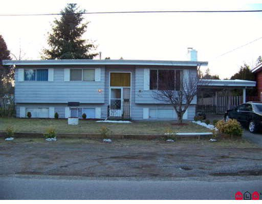Main Photo: 1889 WESTBURY Avenue in Abbotsford: Central Abbotsford House for sale : MLS®# F2802432