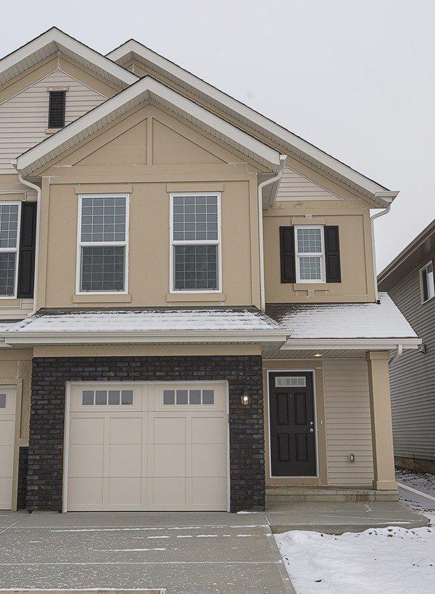Main Photo: 693 EAGLESON Crescent in Edmonton: Zone 57 House Half Duplex for sale : MLS®# E4181644