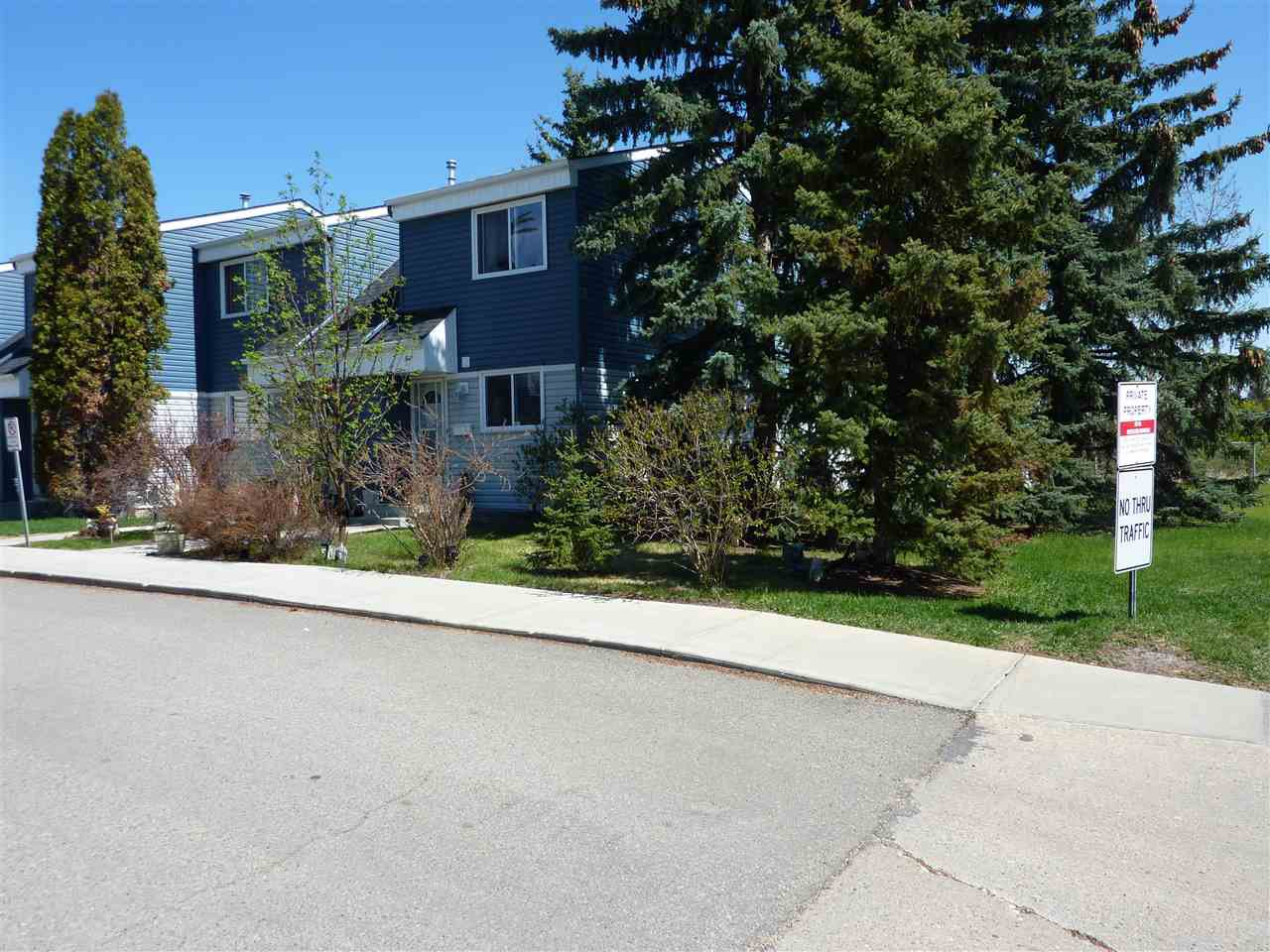 Main Photo: 120 14707 53 Avenue NW in Edmonton: Zone 14 Townhouse for sale : MLS®# E4197185