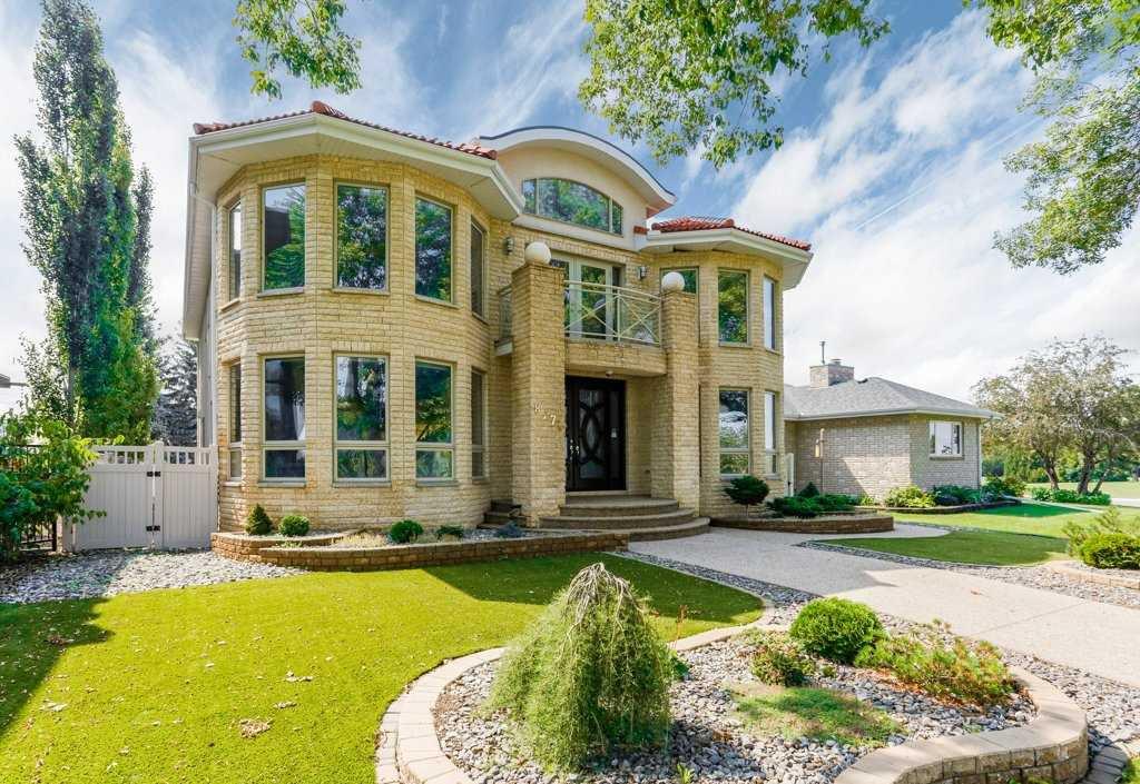 Main Photo: 8771 STRATHEARN Crescent in Edmonton: Zone 18 House for sale : MLS®# E4167060
