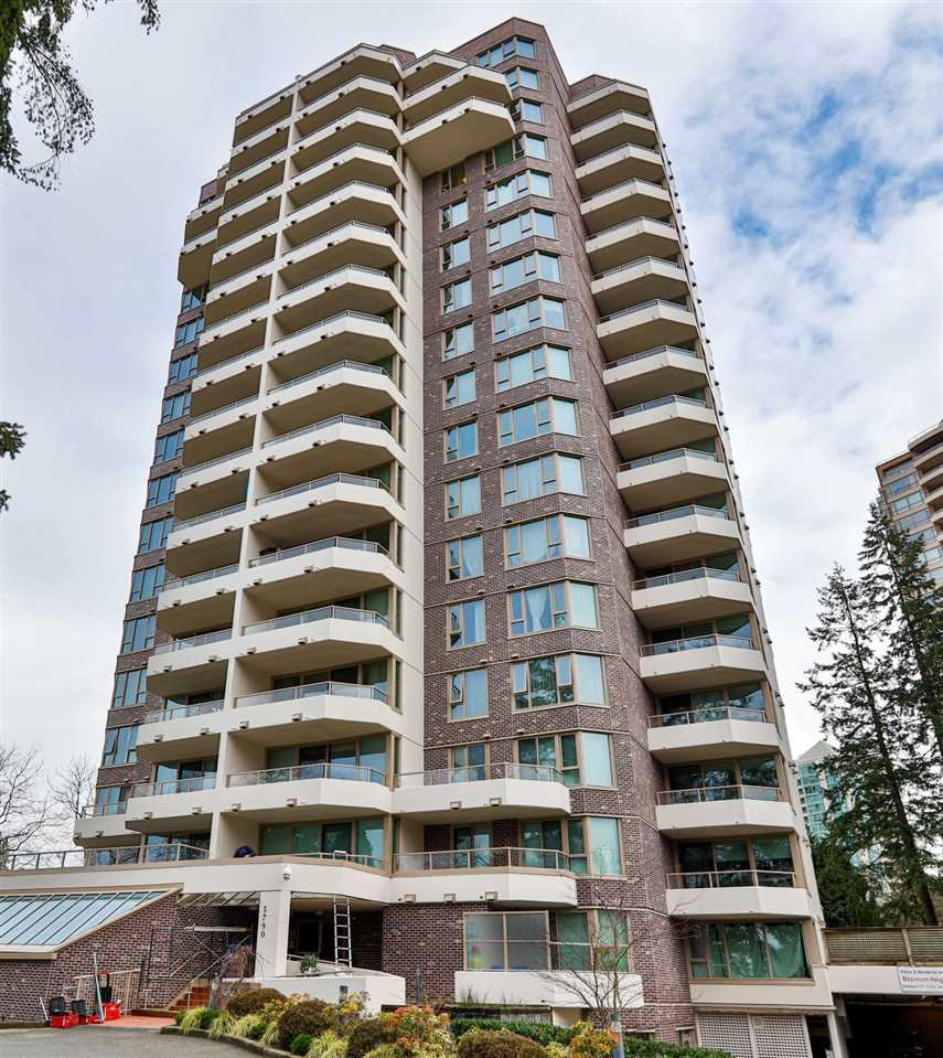 "Main Photo: 1501 5790 PATTERSON Avenue in Burnaby: Metrotown Condo for sale in ""REGENT"" (Burnaby South)  : MLS®# R2480005"