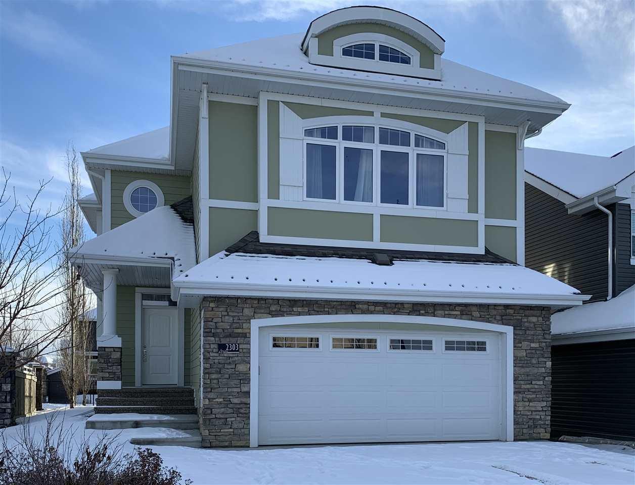 Main Photo: 2303 SPARROW Crescent in Edmonton: Zone 59 House for sale : MLS®# E4182870