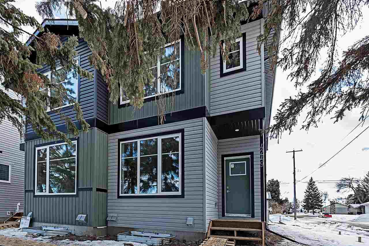 Main Photo: 4249 115 Avenue in Edmonton: Zone 23 House Half Duplex for sale : MLS®# E4189793