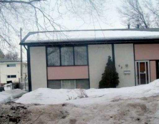 Main Photo: 65 PIKE Crescent in Winnipeg: East Kildonan Single Family Attached for sale (North East Winnipeg)  : MLS®# 2703972