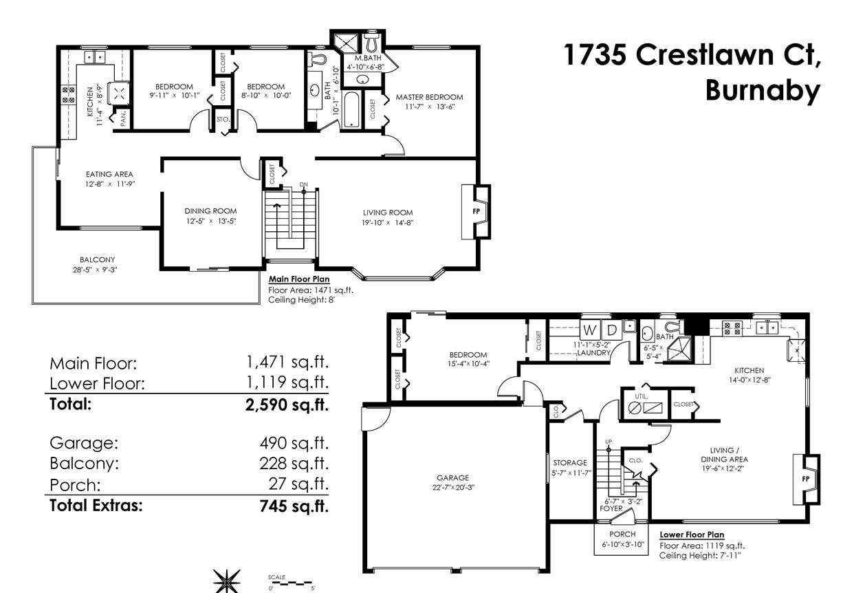 Photo 20: Photos: 1735 CRESTLAWN Court in Burnaby: Brentwood Park House for sale (Burnaby North)  : MLS®# R2390296