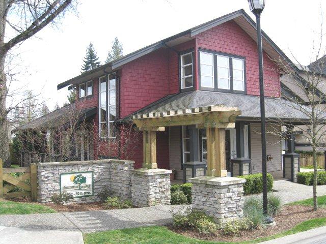 Main Photo: # 27 19932 70TH AV in Langley: Condo for sale : MLS®# F1009337