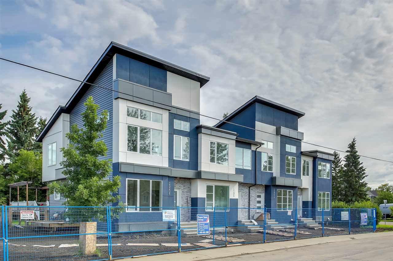 Main Photo: 15202 108 Avenue in Edmonton: Zone 21 Townhouse for sale : MLS®# E4167715