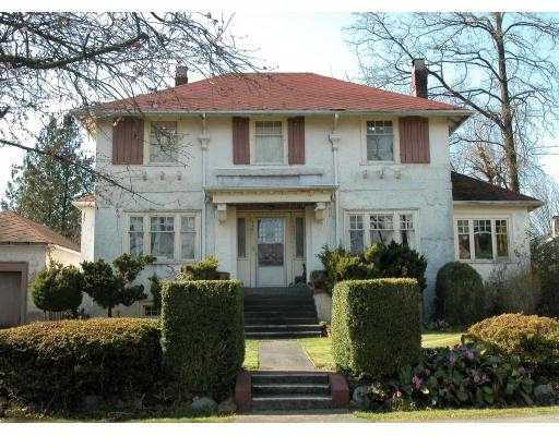 Main Photo: 4261 MARGUERITE Street in Vancouver: Shaughnessy House for sale (Vancouver West)  : MLS®# V695401