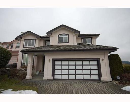 Main Photo: 1619 PINETREE WY in Coquitlam: House for sale : MLS®# V751948