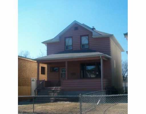 Main Photo: 504 ST JOHN'S Avenue in WINNIPEG: North End Single Family Detached for sale (North West Winnipeg)  : MLS®# 2705522