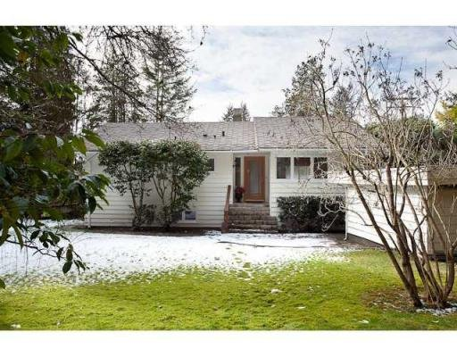 Main Photo: 5090 KEITH RD in West Vancouver: House for sale : MLS®# V873173