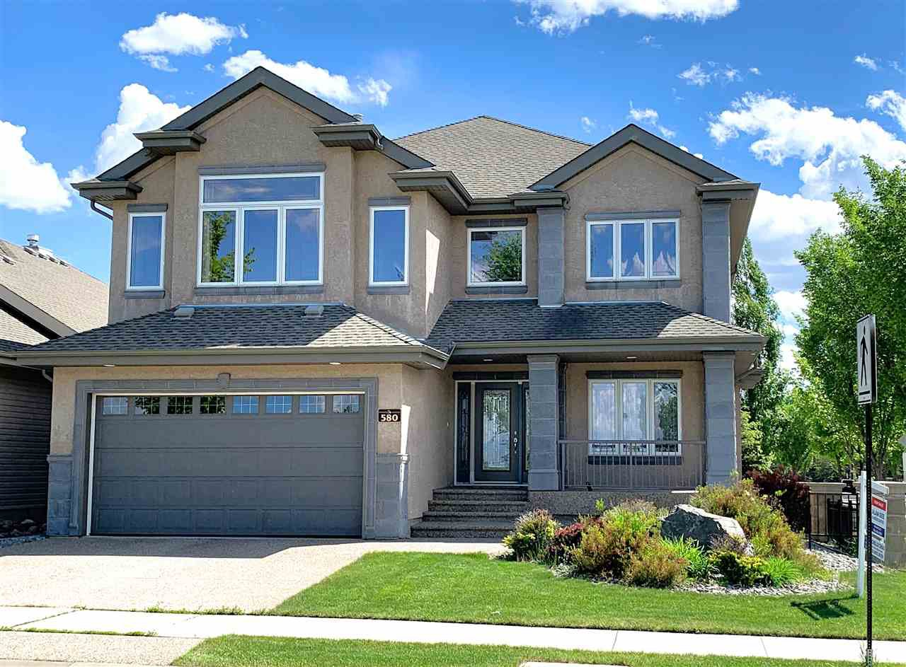 Main Photo: 580 HODGSON Road in Edmonton: Zone 14 House for sale : MLS®# E4173009