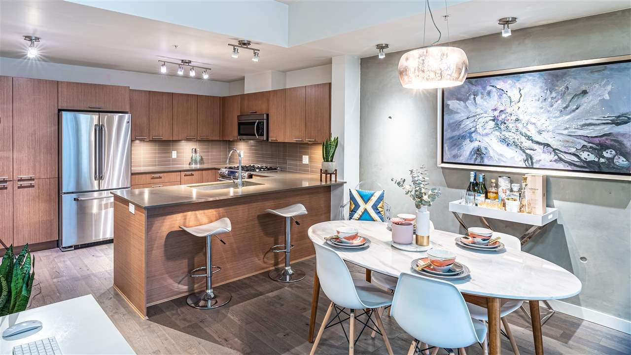 """Main Photo: 106 2727 SPRING Street in Port Moody: Port Moody Centre Townhouse for sale in """"THE STATION"""" : MLS®# R2472381"""