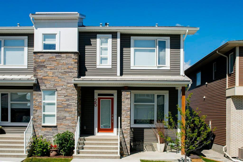Main Photo: 25 HOWSE Street NE in Calgary: Livingston Semi Detached for sale : MLS®# A1028940