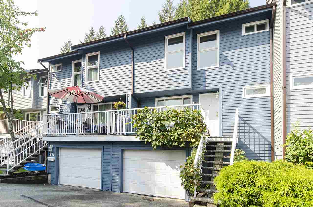 "Main Photo: 482 CARLSEN Place in Port Moody: North Shore Pt Moody Townhouse for sale in ""EAGLE POINT"" : MLS®# R2498769"