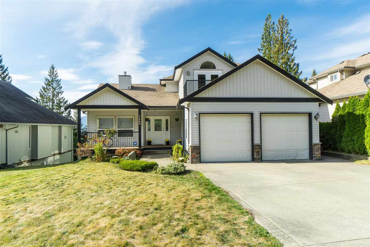 Main Photo: 7269 BRYANT Place in Chilliwack: Eastern Hillsides House for sale : MLS®# R2500961