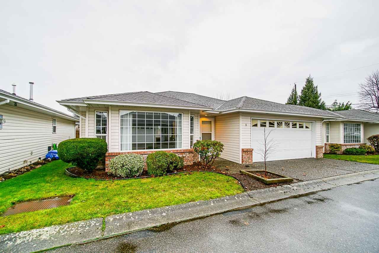 """Main Photo: 8 9420 WOODBINE Street in Chilliwack: Chilliwack E Young-Yale House for sale in """"The Stratford"""" : MLS®# R2522441"""