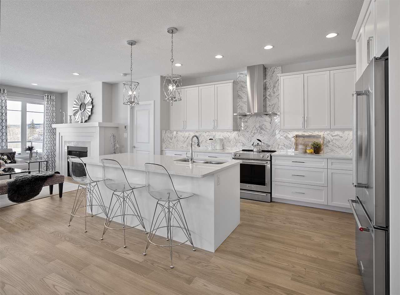 Main Photo: 97 Rybury Court: Sherwood Park House Half Duplex for sale : MLS®# E4223574