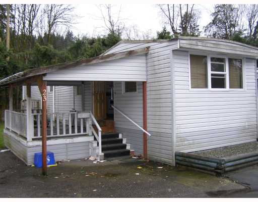 """Main Photo: 23 4200 DEWDNEY TRUNK Road in Coquitlam: Ranch Park Manufactured Home for sale in """"HIDEAWAY HOME PARK"""" : MLS®# V711854"""