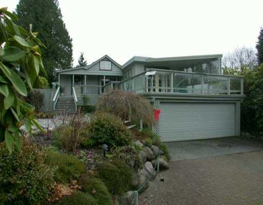 Main Photo: 4370 STEARMAN Ave in West Vancouver: Cypress House for sale : MLS®# V624885