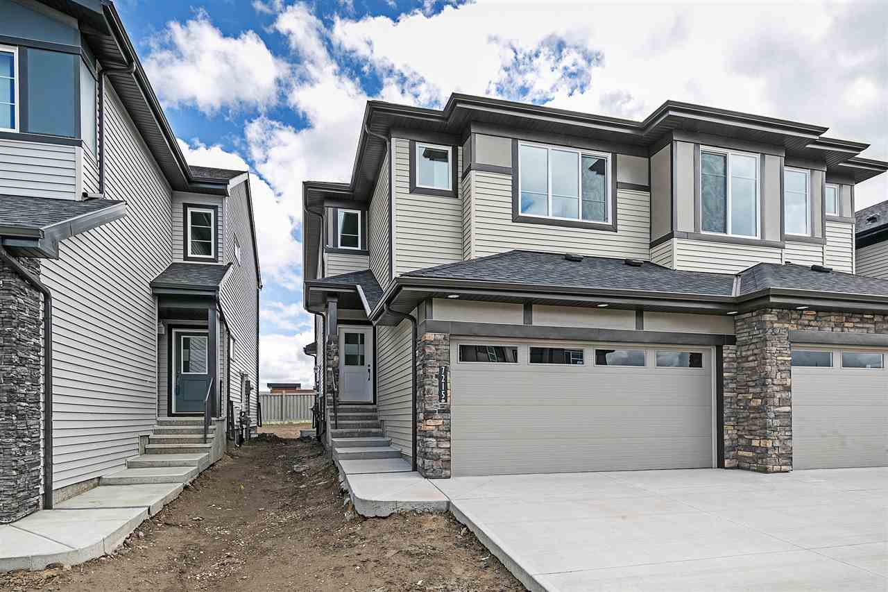 Main Photo:  in Edmonton: Zone 55 House Half Duplex for sale : MLS®# E4204031