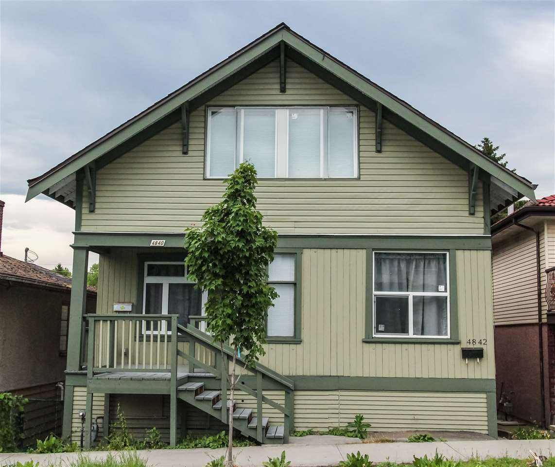 Main Photo: 4840 KNIGHT Street in Vancouver: Knight House for sale (Vancouver East)  : MLS®# R2475040