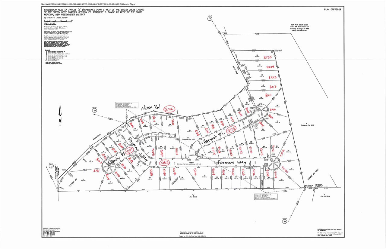 """Main Photo: 8175 HARVEST Place in Chilliwack: Eastern Hillsides Land for sale in """"FALLS RIDGE"""" : MLS®# R2477635"""
