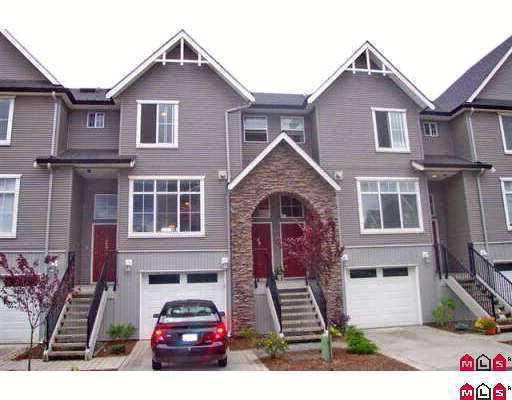 "Main Photo: 8881 WALTERS Street in Chilliwack: Chilliwack E Young-Yale Townhouse for sale in ""EDENPARK"" : MLS®# H2701308"
