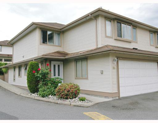 "Main Photo: 35 22280 124TH Avenue in Maple_Ridge: West Central Townhouse for sale in ""HILLSIDE TERRACE"" (Maple Ridge)  : MLS®# V650385"