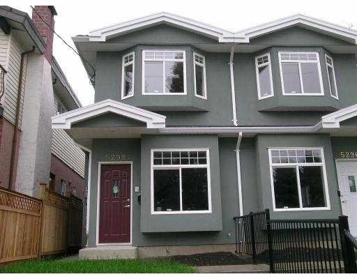Main Photo: 5298 MANOR Street in Burnaby: Central BN House 1/2 Duplex for sale (Burnaby North)  : MLS®# V653420
