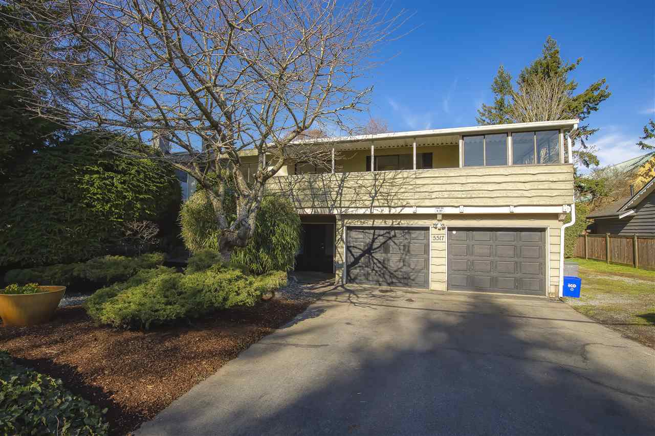 Main Photo: 5517 18 Avenue in Delta: Cliff Drive House for sale (Tsawwassen)  : MLS®# R2437948